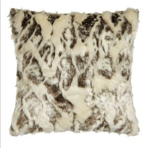 Dian Austin Couture Home Faux Fur Euro Shams